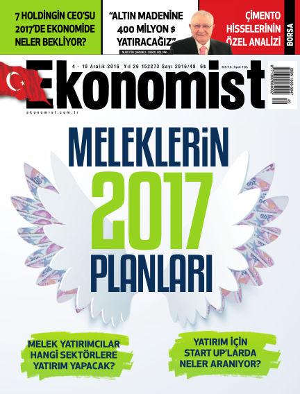 Ekonomist December 04, 2016 00:00
