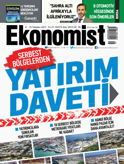 Ekonomist July 09, 2017 00:00