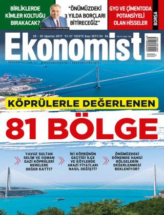 Ekonomist 21st August 2017