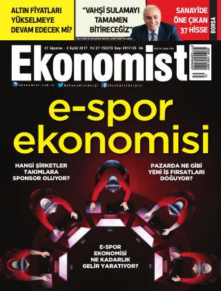 Ekonomist 27th August 2017