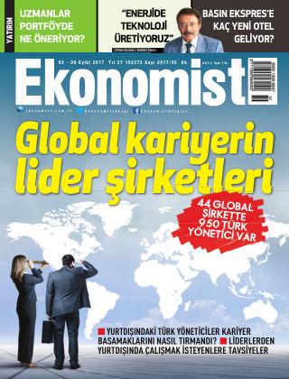 Ekonomist 3rd September 2017