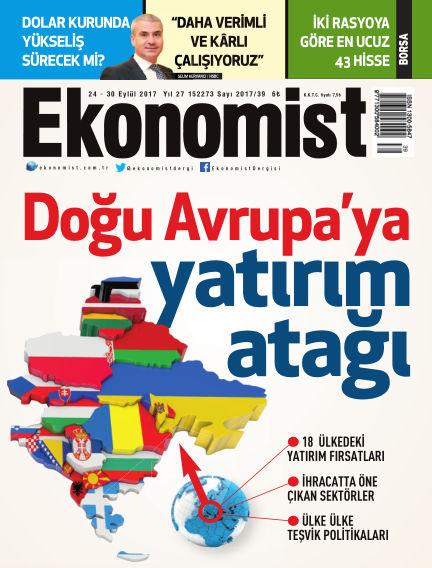 Ekonomist September 24, 2017 00:00
