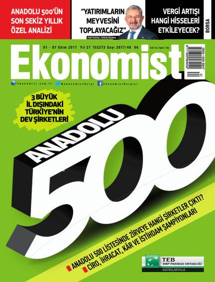 Ekonomist October 01, 2017 00:00