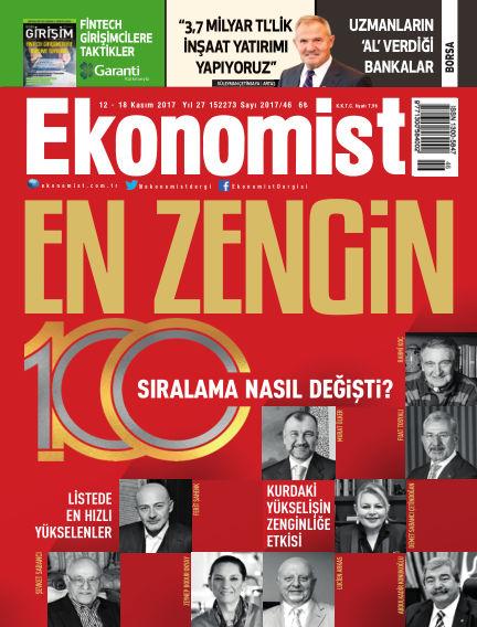 Ekonomist November 11, 2017 00:00