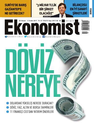 Ekonomist 27th November 2017