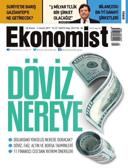 Ekonomist November 27, 2017 00:00