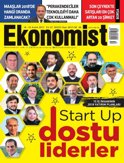Ekonomist December 09, 2017 00:00
