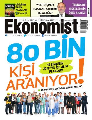 Ekonomist 16th December  2017