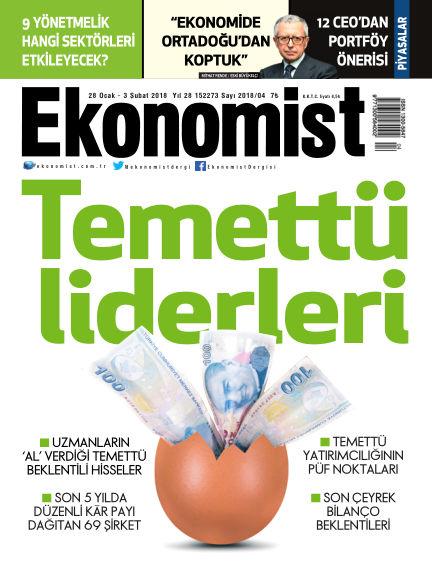 Ekonomist January 29, 2018 00:00