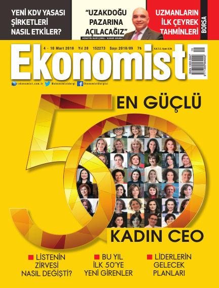 Ekonomist March 03, 2018 00:00