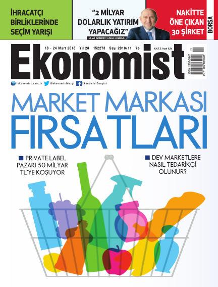 Ekonomist March 18, 2018 00:00