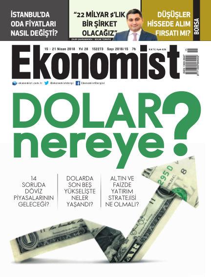 Ekonomist April 15, 2018 00:00
