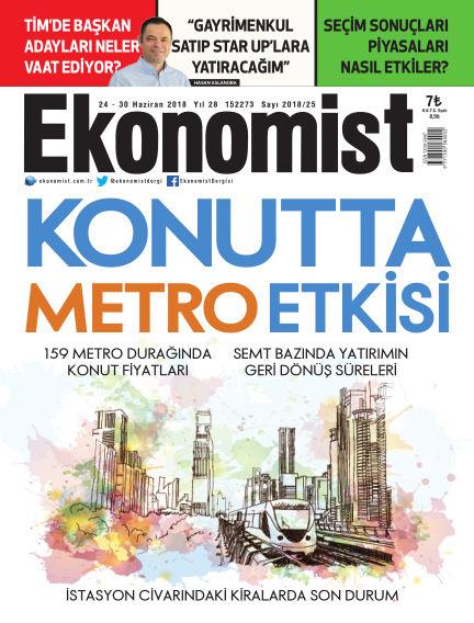 Ekonomist June 24, 2018 00:00