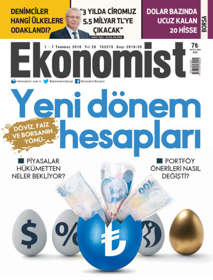 Ekonomist July 02, 2018 00:00