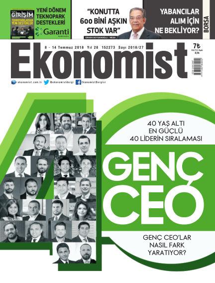 Ekonomist July 08, 2018 00:00