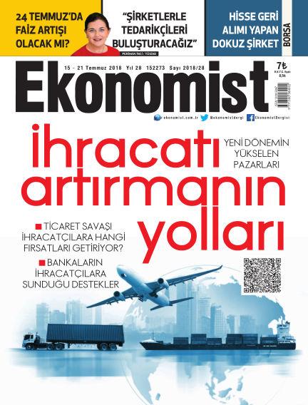 Ekonomist July 15, 2018 00:00