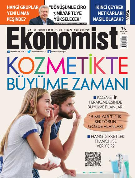 Ekonomist July 22, 2018 00:00