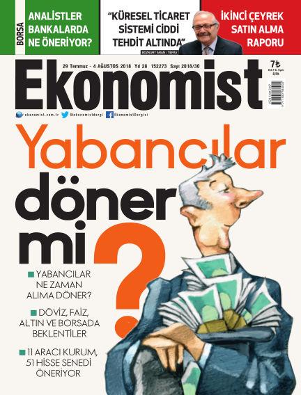 Ekonomist July 29, 2018 00:00