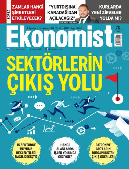 Ekonomist August 05, 2018 00:00