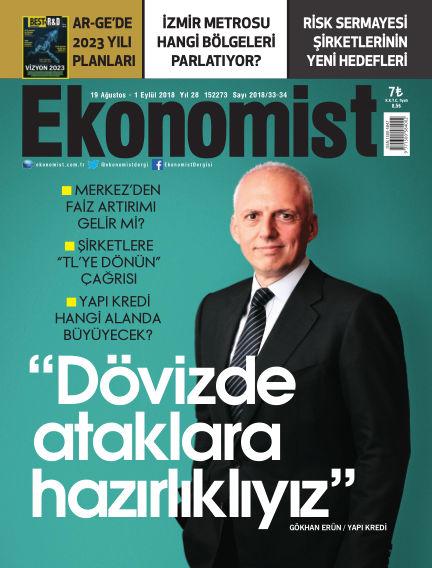 Ekonomist August 25, 2018 00:00