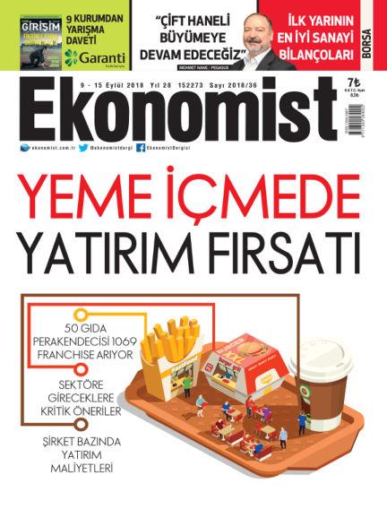 Ekonomist September 07, 2018 00:00