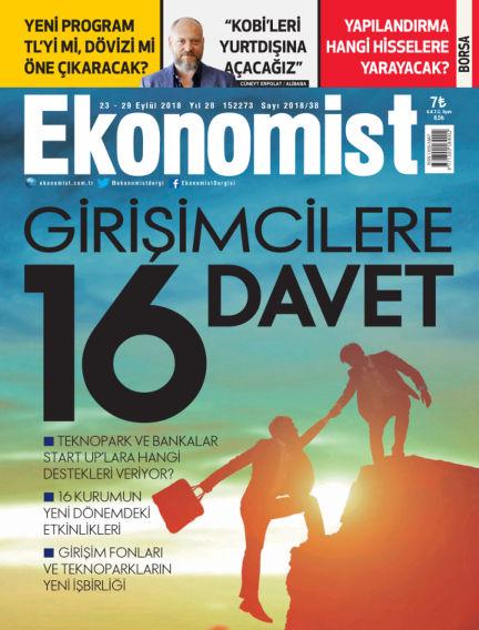 Ekonomist September 22, 2018 00:00
