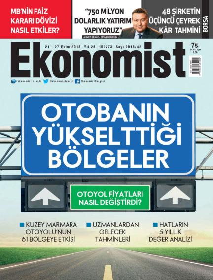 Ekonomist October 19, 2018 00:00