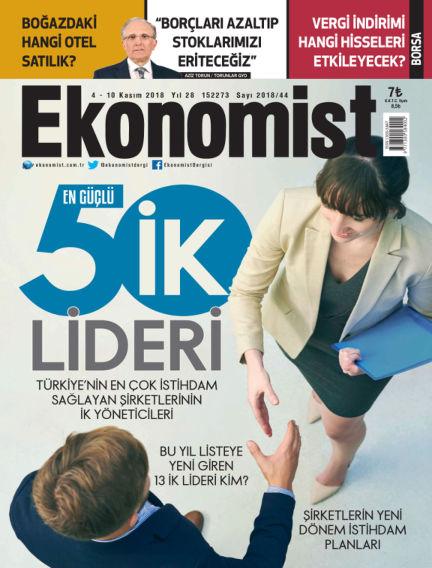 Ekonomist November 03, 2018 00:00