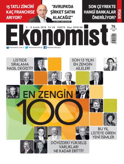 Ekonomist December 01, 2018 00:00