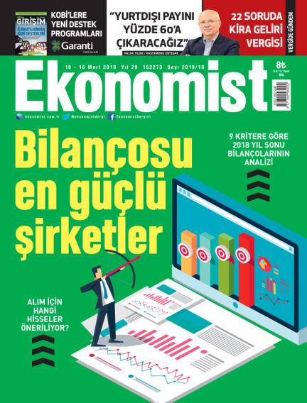 Ekonomist March 09, 2019 00:00
