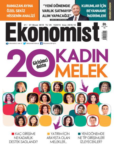 Ekonomist April 20, 2019 00:00