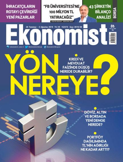 Ekonomist July 28, 2019 00:00