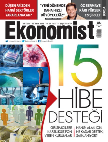 Ekonomist September 27, 2019 00:00