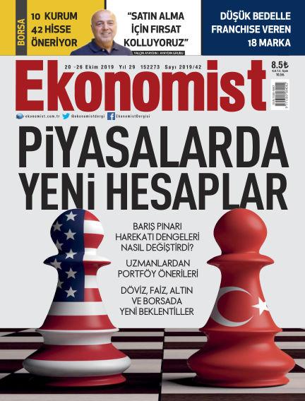 Ekonomist October 21, 2019 00:00