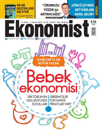 Ekonomist October 26, 2019 00:00