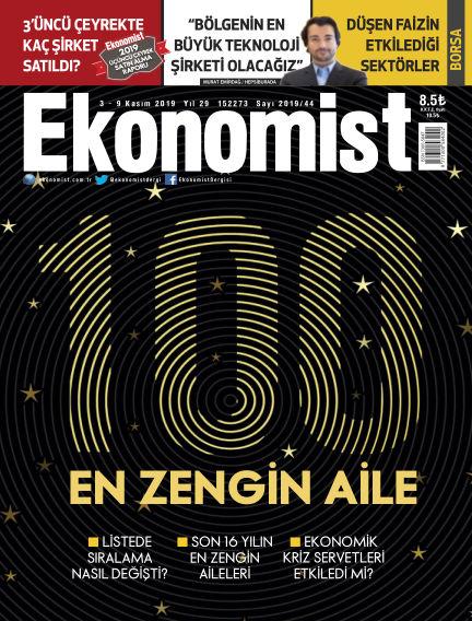 Ekonomist November 01, 2019 00:00