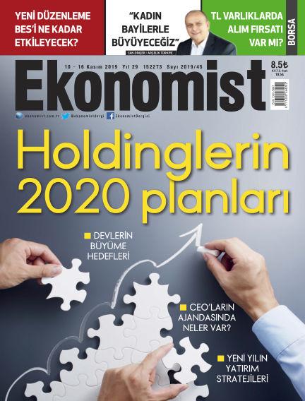 Ekonomist November 09, 2019 00:00