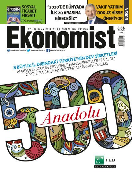 Ekonomist November 20, 2019 00:00