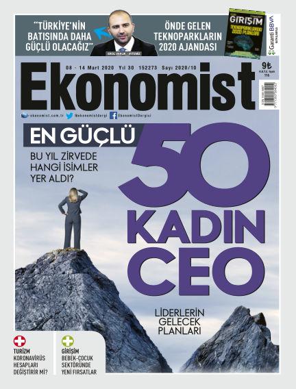 Ekonomist March 08, 2020 00:00