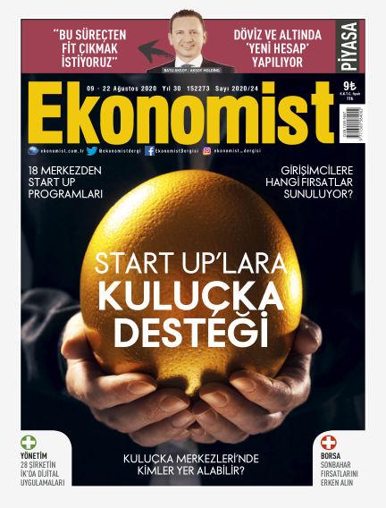 Ekonomist August 08, 2020 00:00