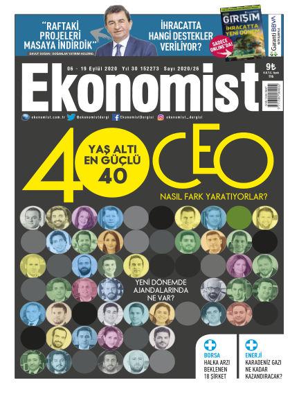 Ekonomist September 05, 2020 00:00