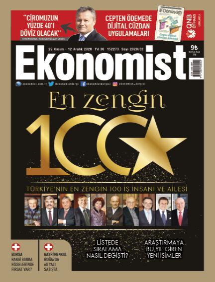 Ekonomist November 28, 2020 00:00