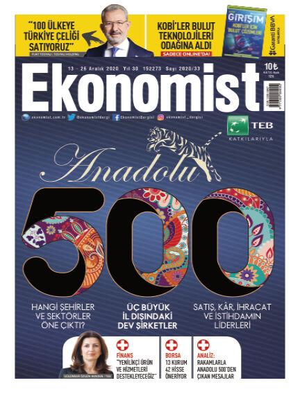 Ekonomist December 13, 2020 00:00