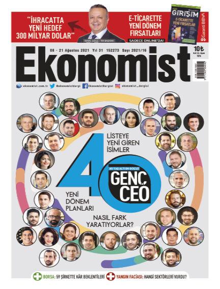 Ekonomist August 07, 2021 00:00