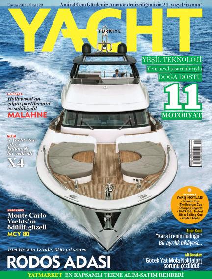 Yacht October 31, 2016 00:00