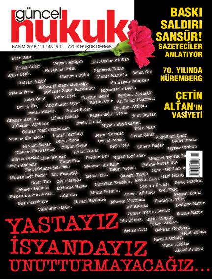 Güncel Hukuk November 02, 2015 00:00