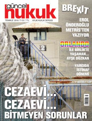 Güncel Hukuk July 2016
