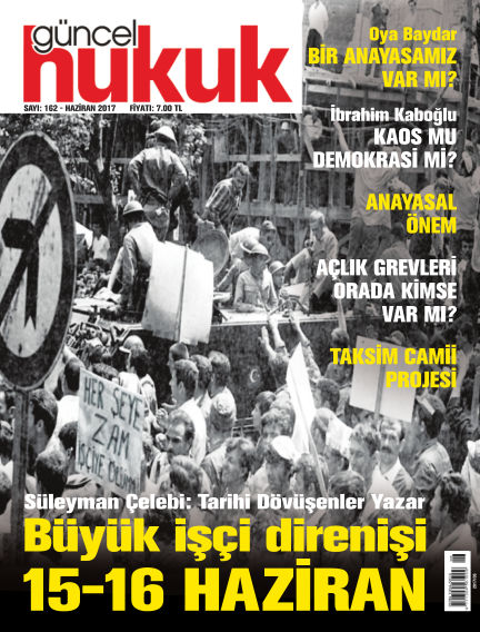Güncel Hukuk May 31, 2017 00:00