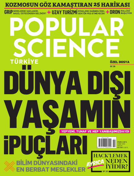 Popular Science - Turkey January 29, 2015 00:00