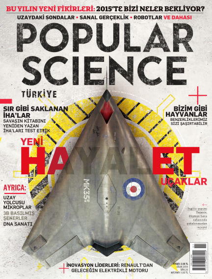 Popular Science - Turkey December 31, 2014 00:00